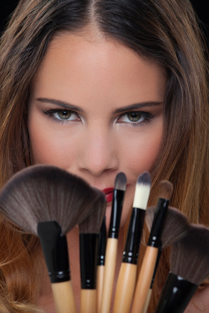 BUNDLE DEAL - $29 FOR 10 ASSORTED SINGLE MAKEUP BRUSHES