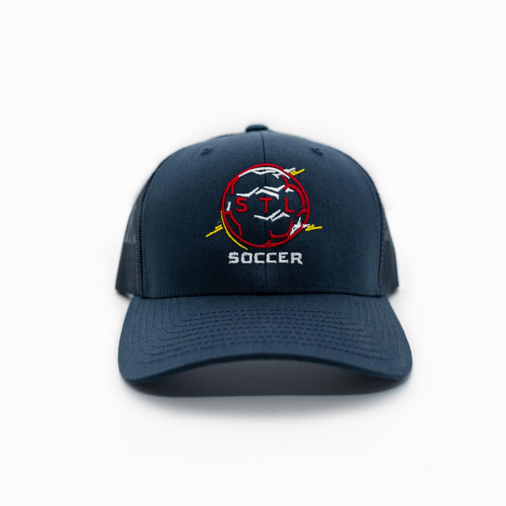 Soccer City Circle Baseball Trucker Hat