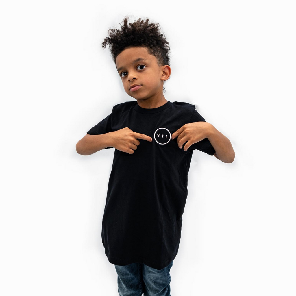 Youth Embroidered City Circle Tee