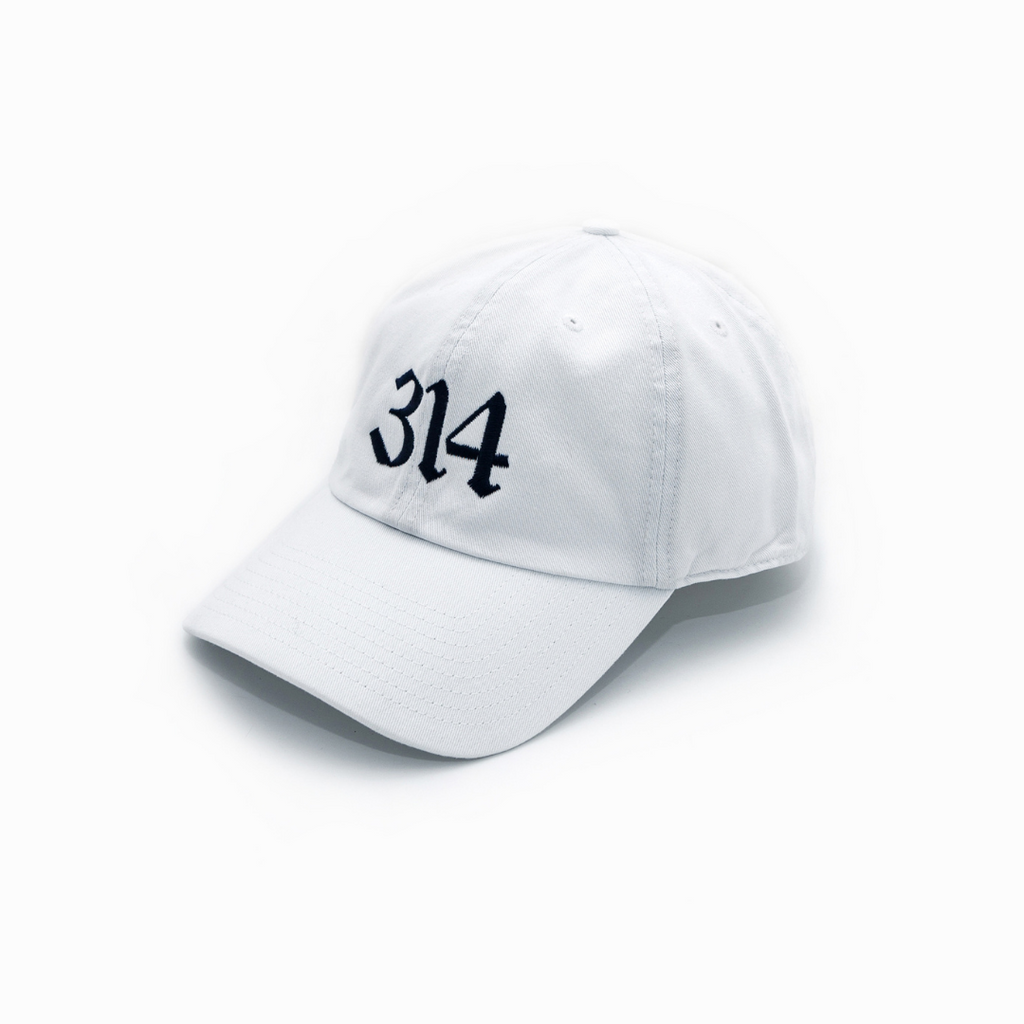 314 Blackletter Dad Cap