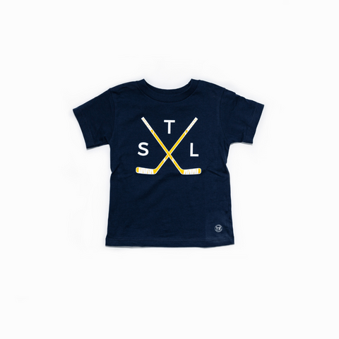 Youth Crossed Sticks Tee