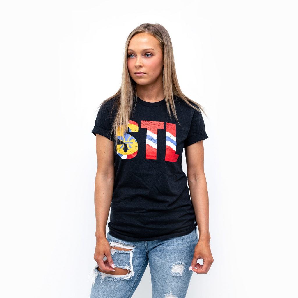 STL Flag Ultra-soft Tee