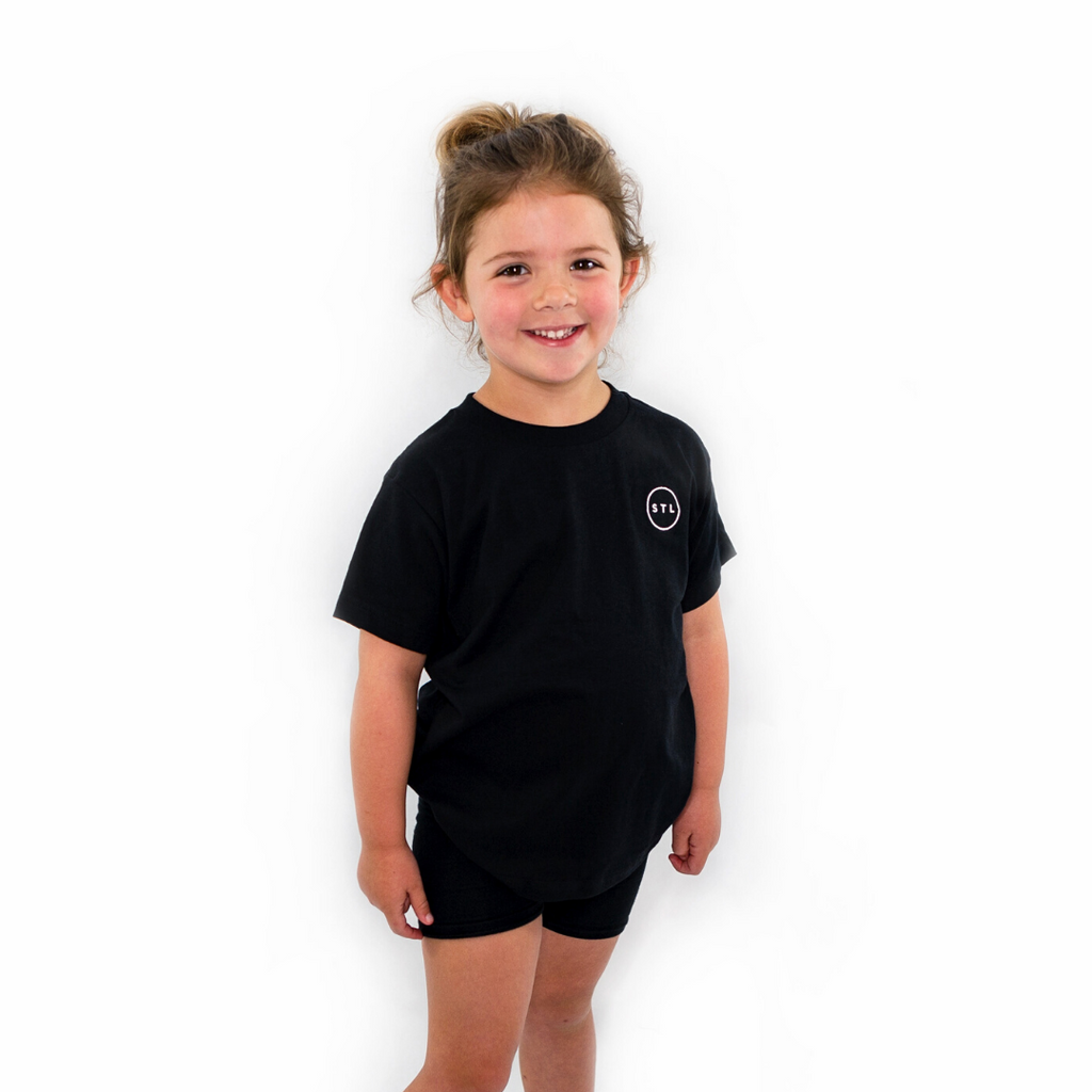 Toddler Embroidered City Circle Tee