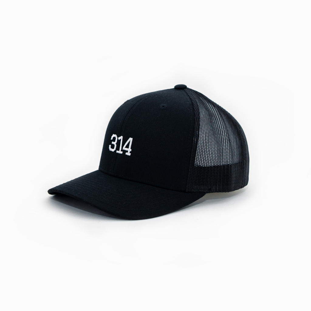 314 Curved Bill Trucker