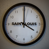 SAINT LOUIS wall clock