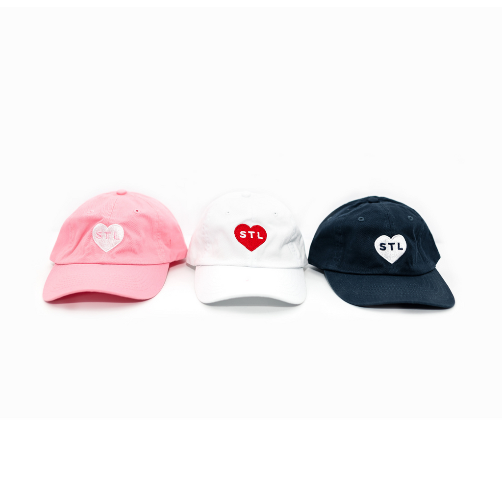 Small Fit Heart STL Dad Cap