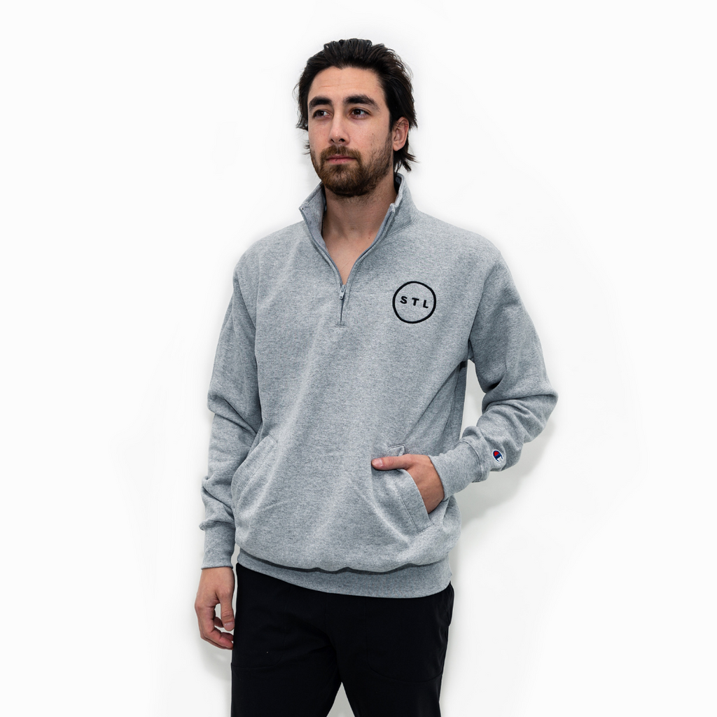 City Circle Champion® Pullover Quarter Zip