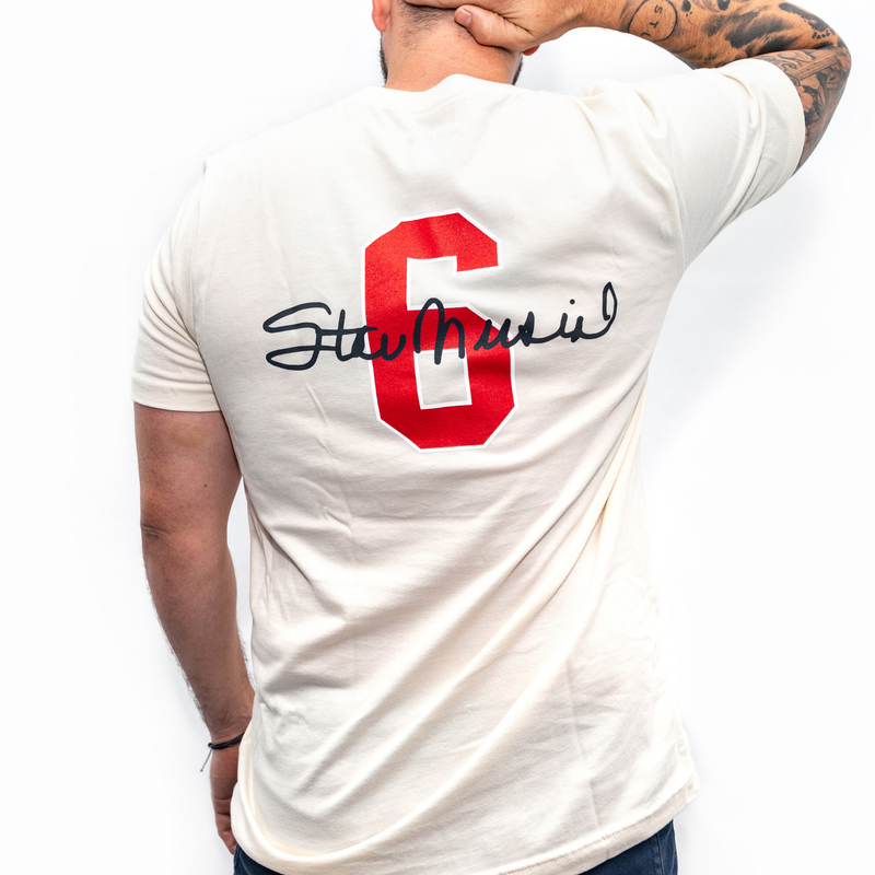 Stan Musial 6 Tee