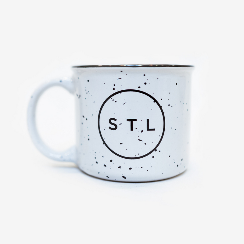 City Circle Speckled Mug