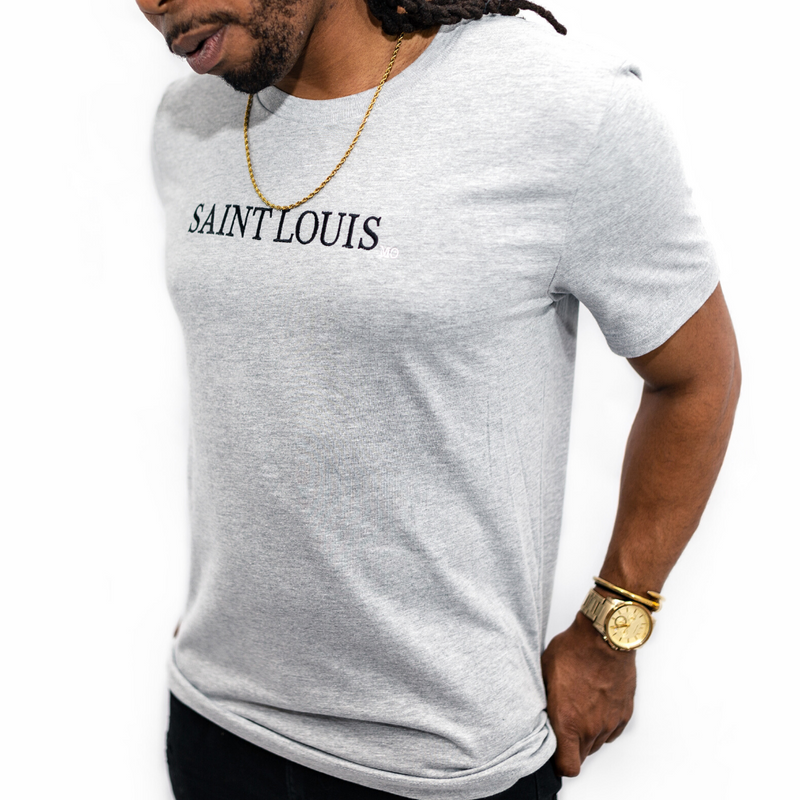 Saint Louis MO Embroidered Tee