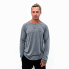 Embroidered City Circle Long Sleeve Henley