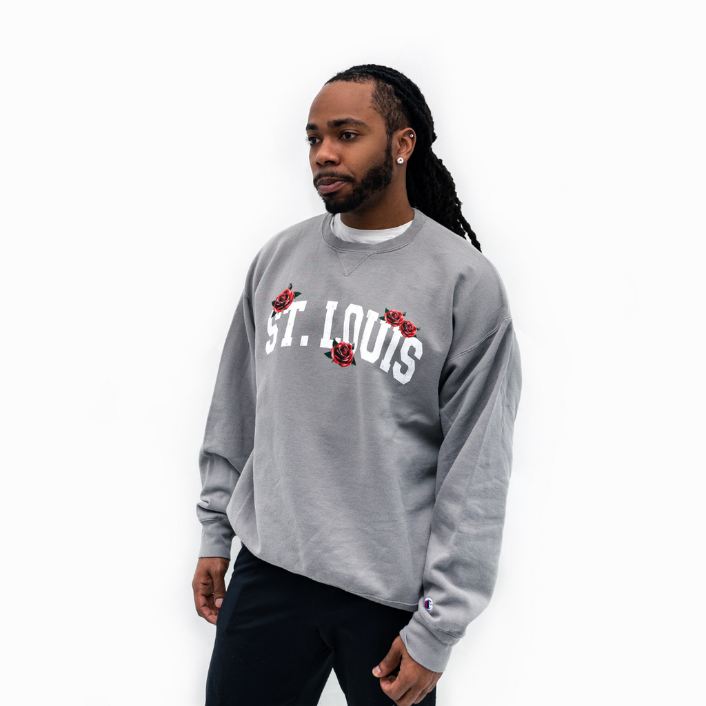 St. Louis Roses Collegiate Champion® Crewneck
