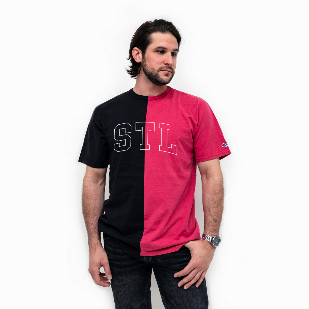 STL Collegiate Colorblock Champion® Tee