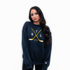 Crossed Sticks Champion® Crewneck Sweatshirt