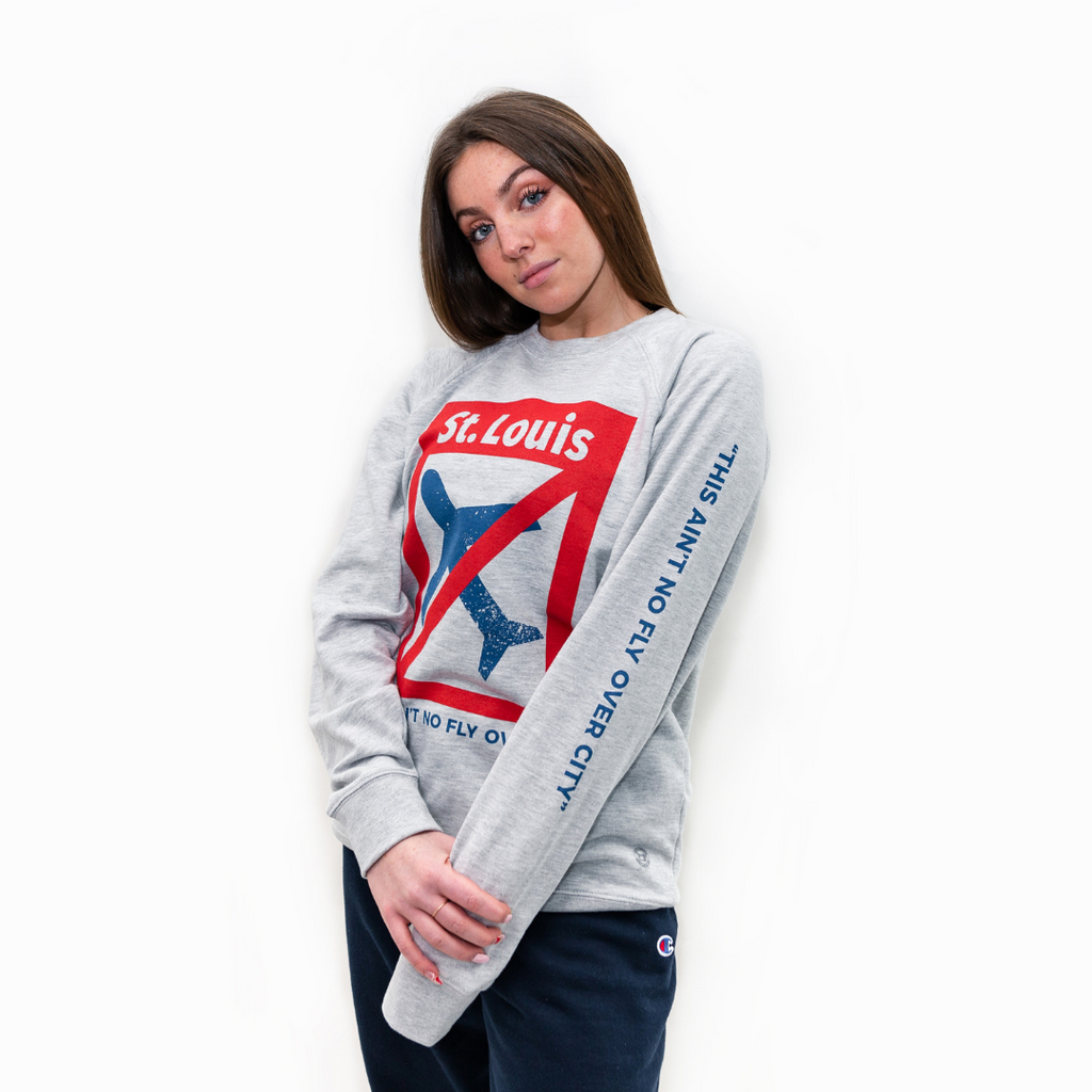 No Fly Over City Lightweight Crewneck