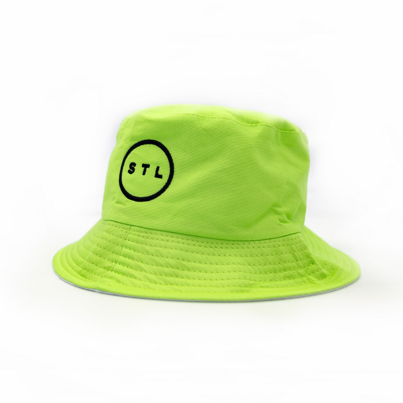Neon City Circle Bucket Hat