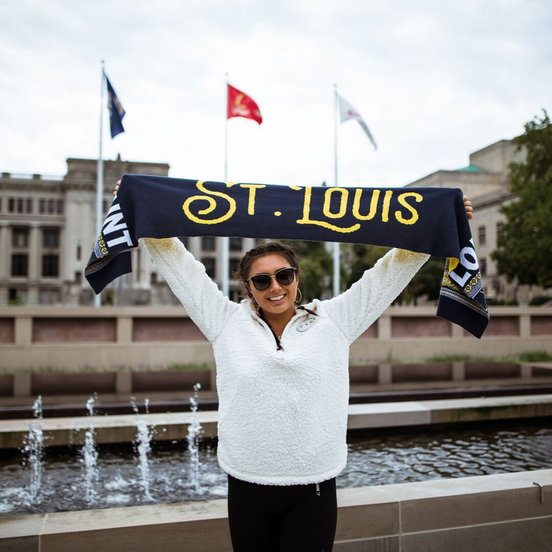 St. Louis Hockey Scarf