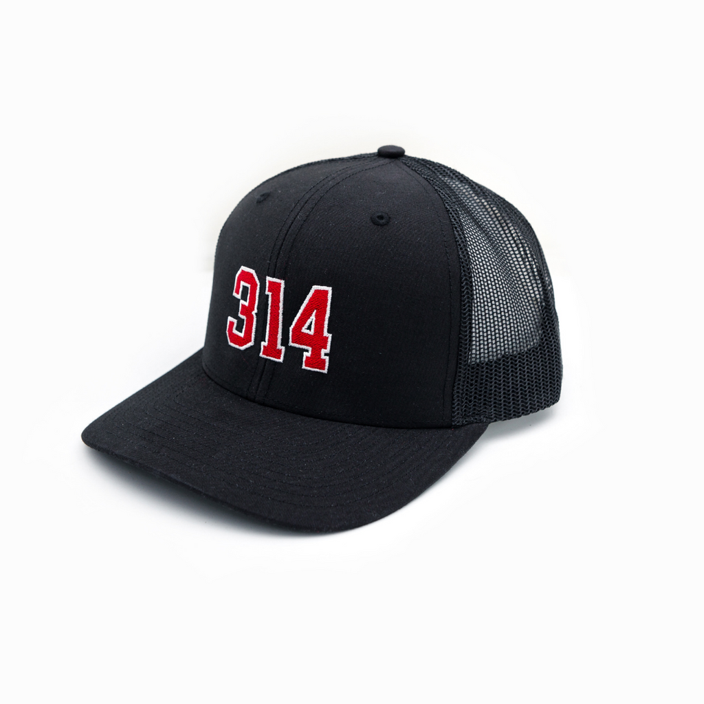 314 Collegiate Curved Bill Trucker