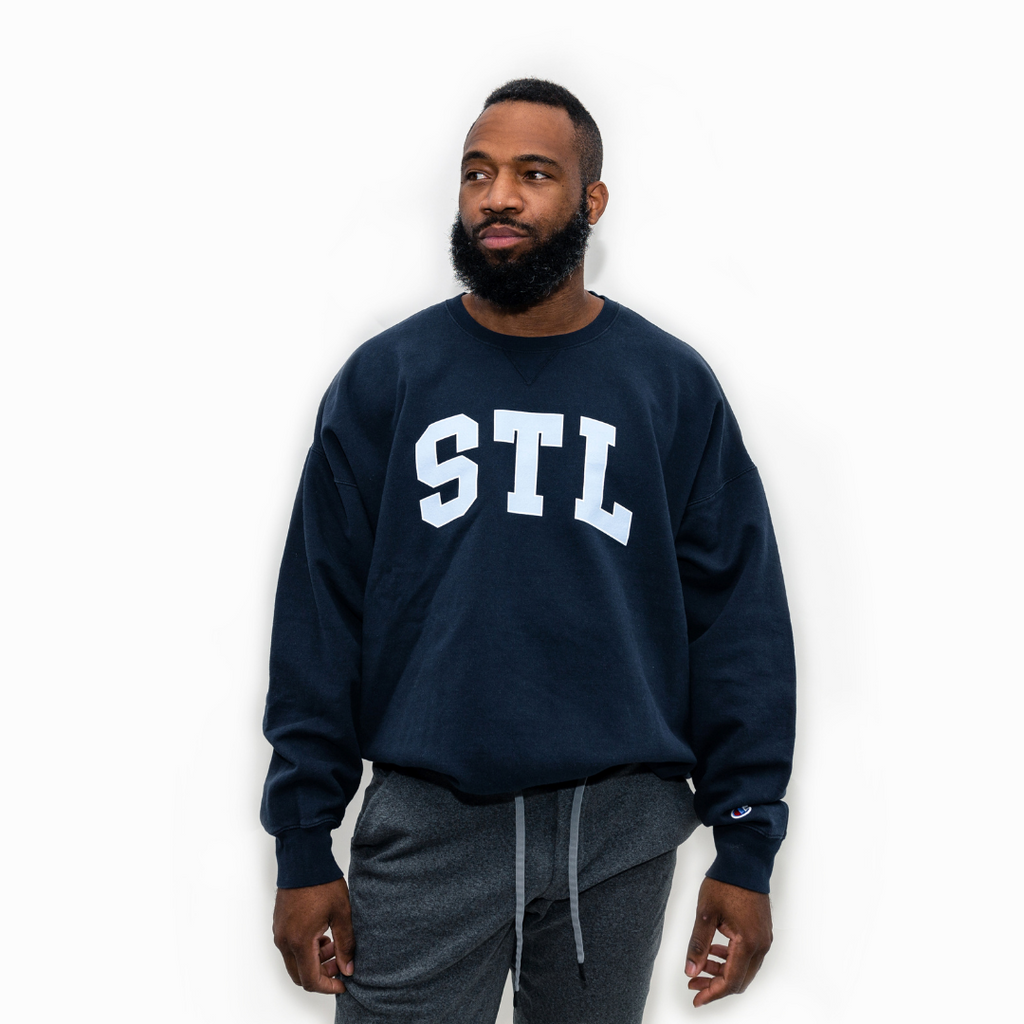 ICY STL Champion® Collegiate Crewneck Sweatshirt