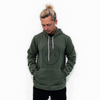Olive Blackout City Circle Hoodie
