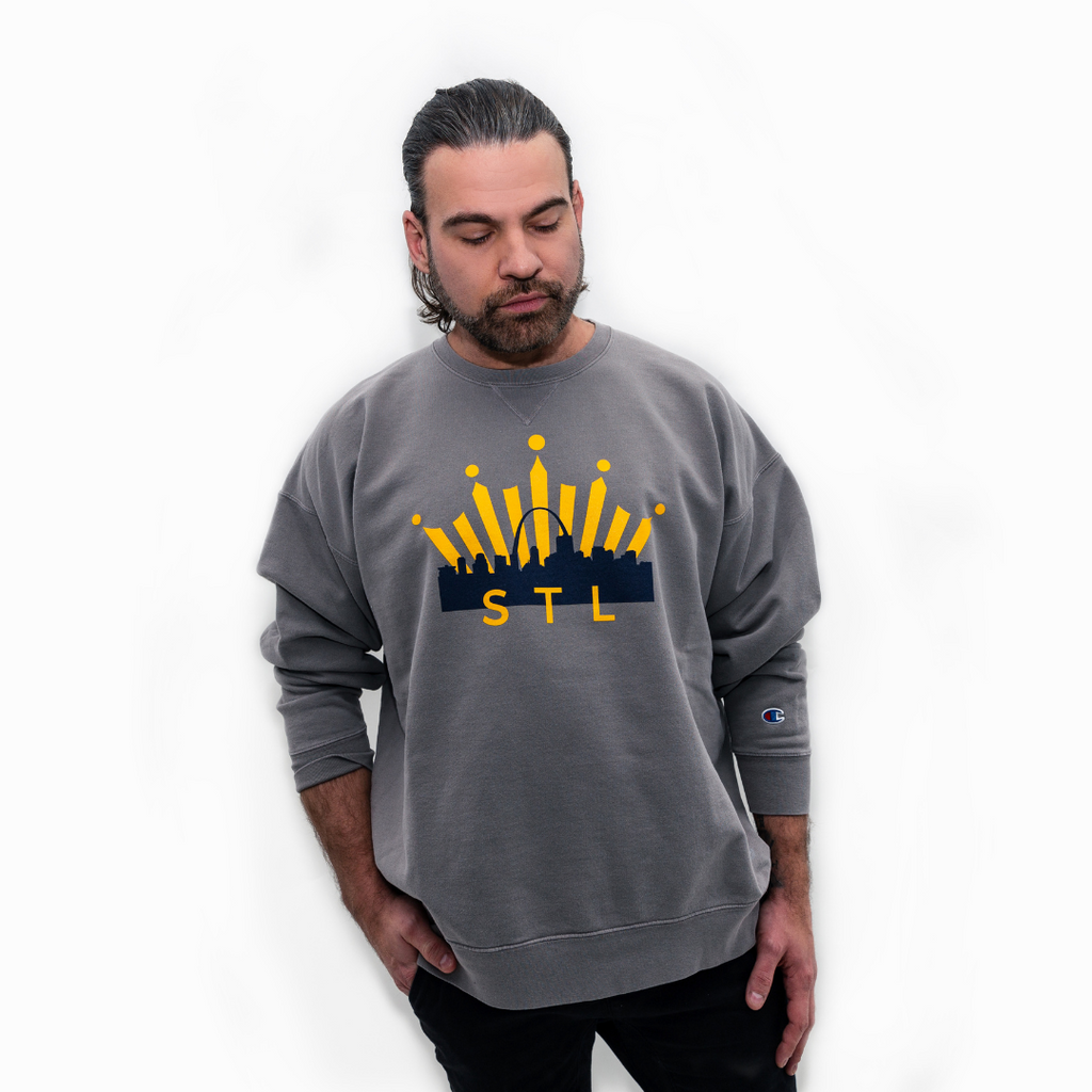 Bud Select Hockey Champion® Crewneck Sweatshirt