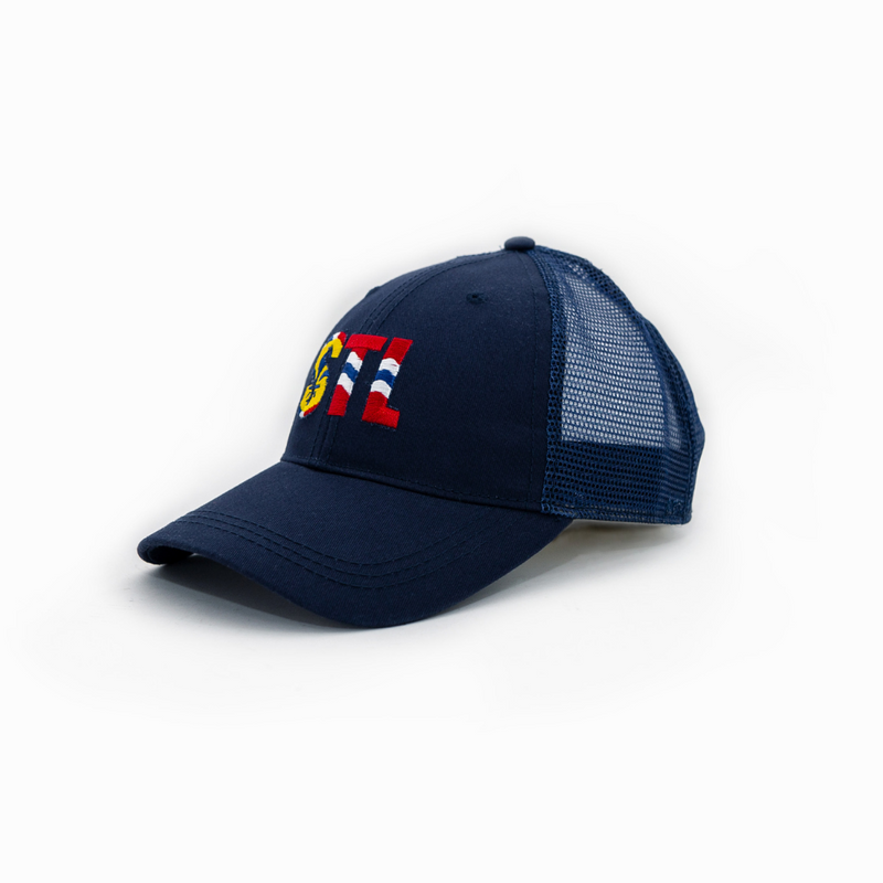 STL Flag - Arch Apparel Baseball Trucker