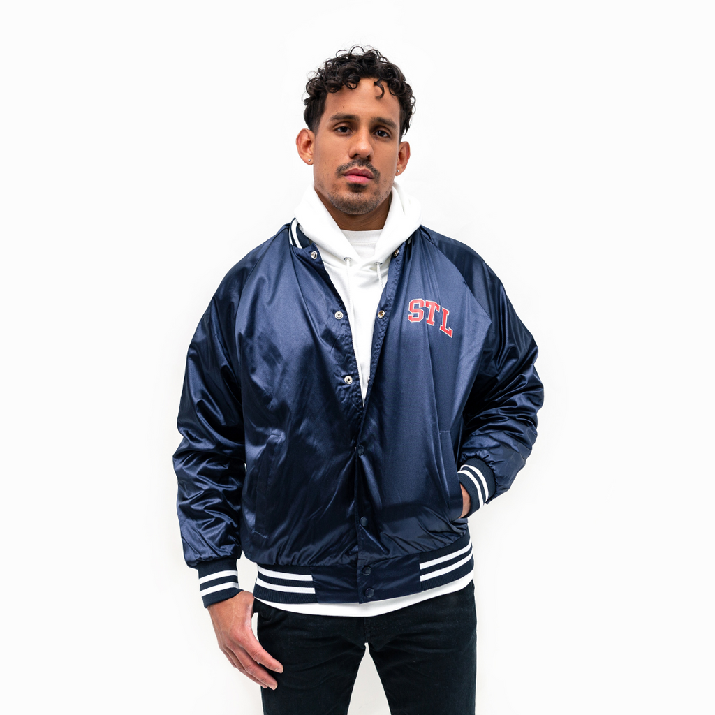 Collegiate Satin Jacket