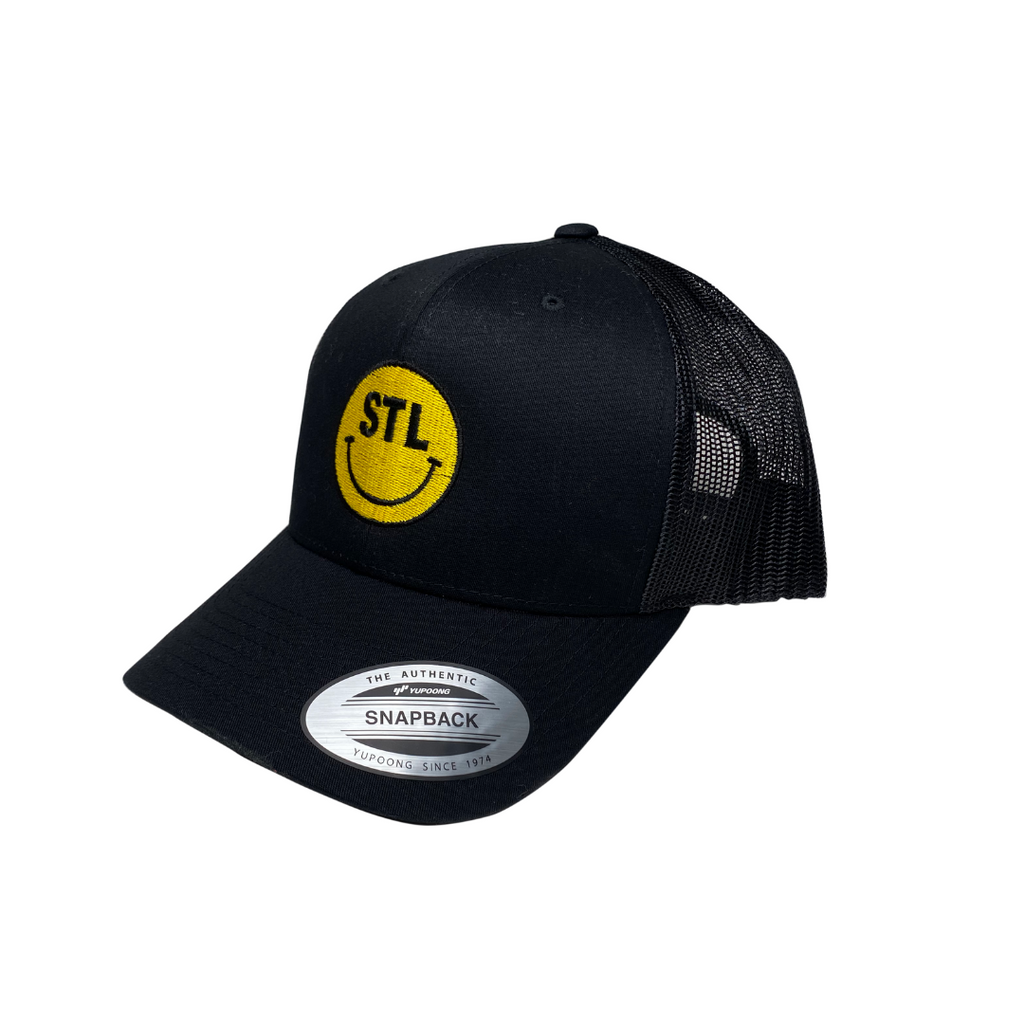 Smiley Curved Bill Trucker