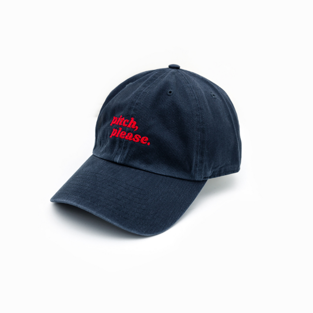 Pitch Please Dad Cap