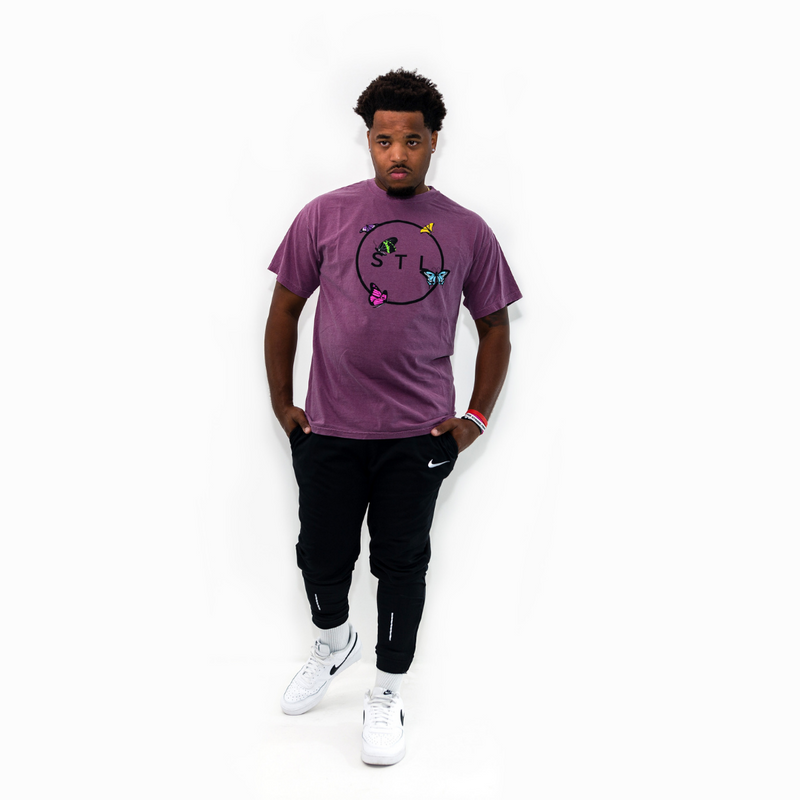 Butterfly City Circle Tee