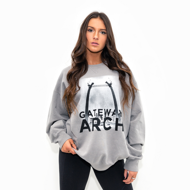 Gateway Arch 55th Anniversary Champion® Crewneck