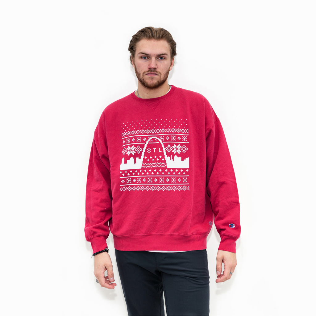 Holiday Skyline Champion® Crewneck