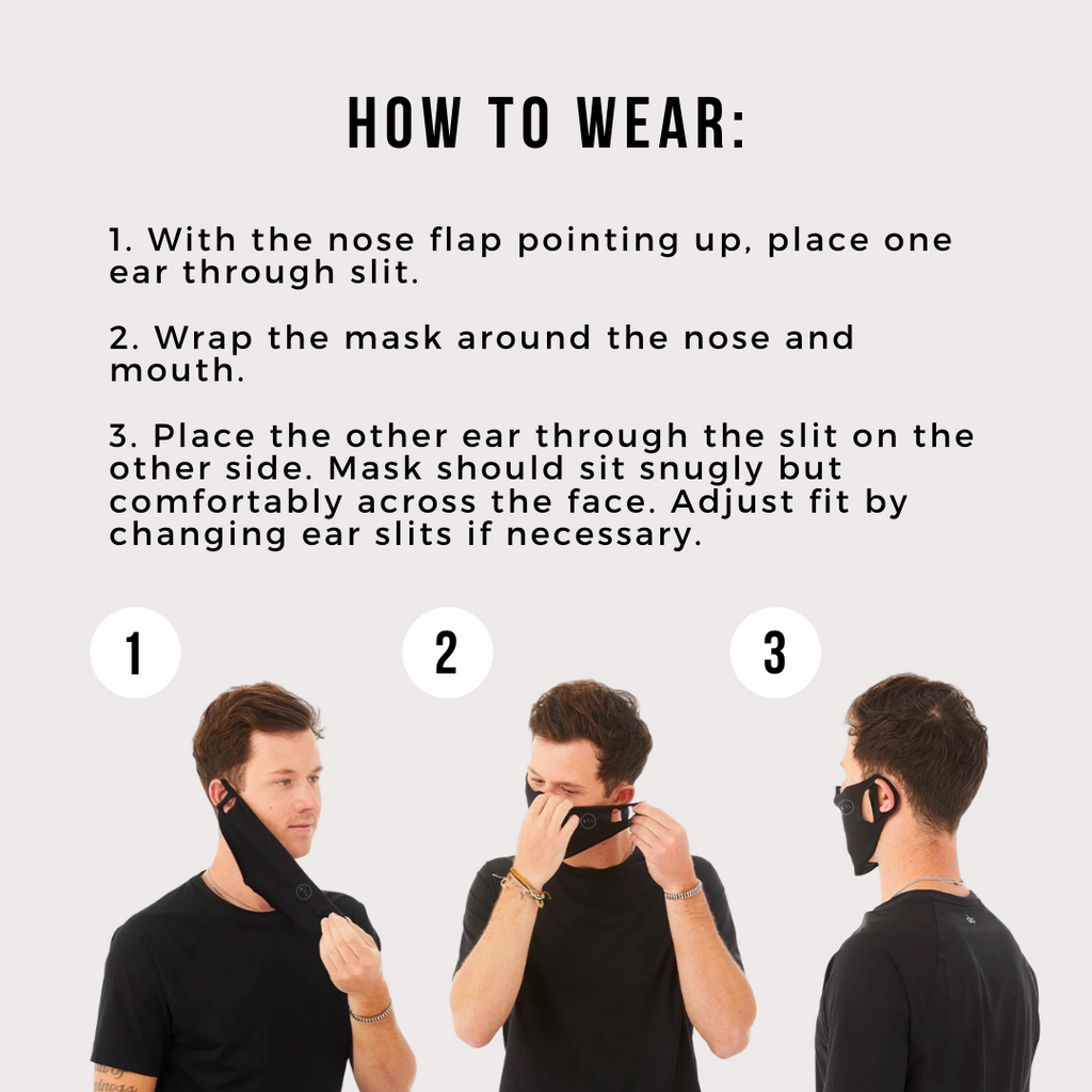 T-Shirt Fabric Face Mask 8 Pack - Grey