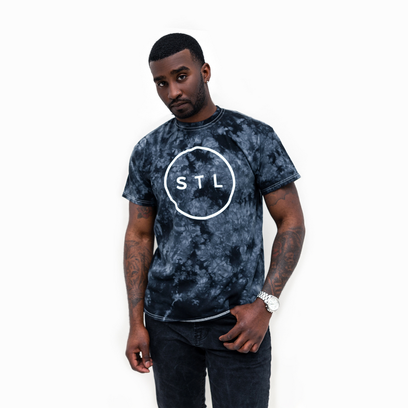 Crystal Wash City Circle Tee