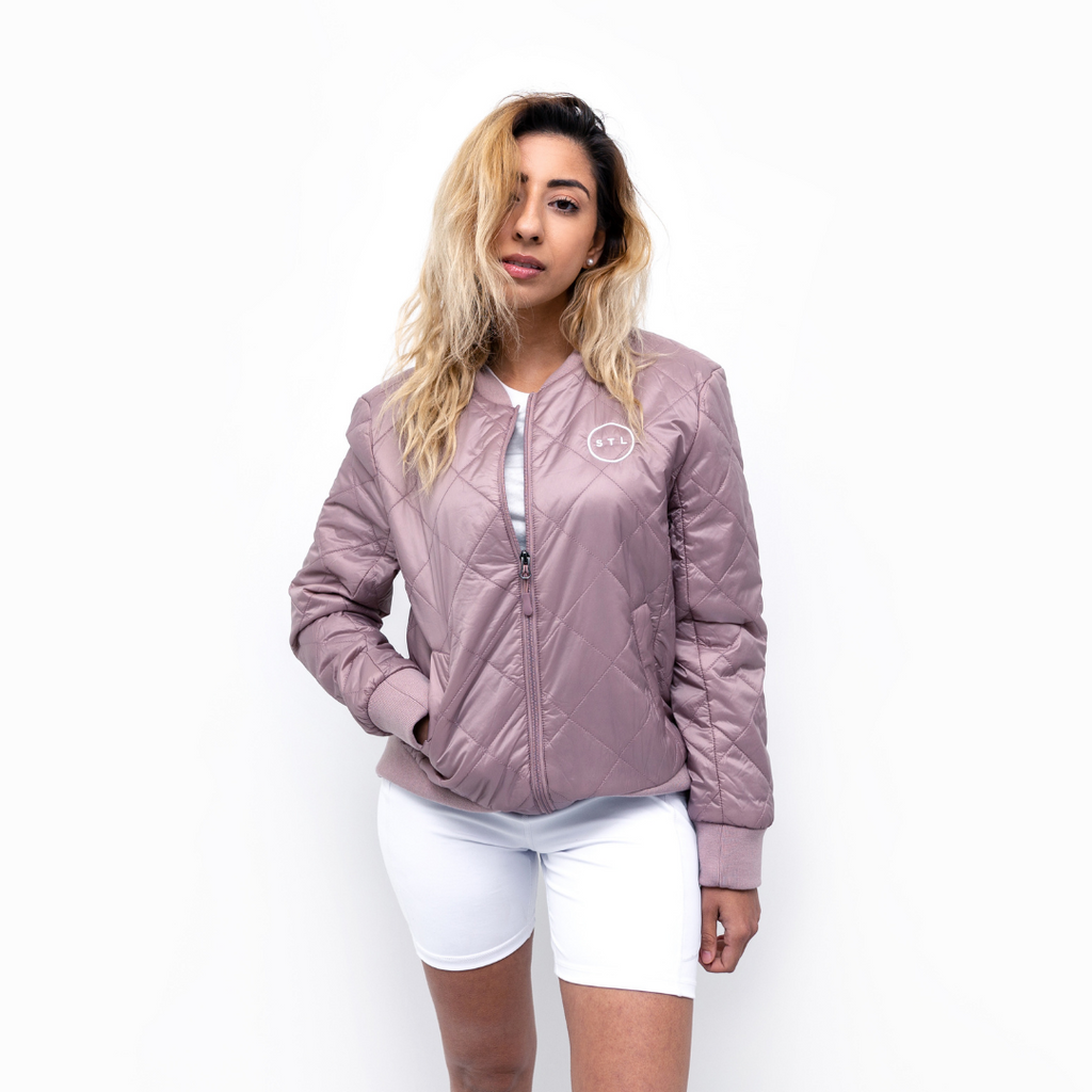 City Circle Bomber Jacket
