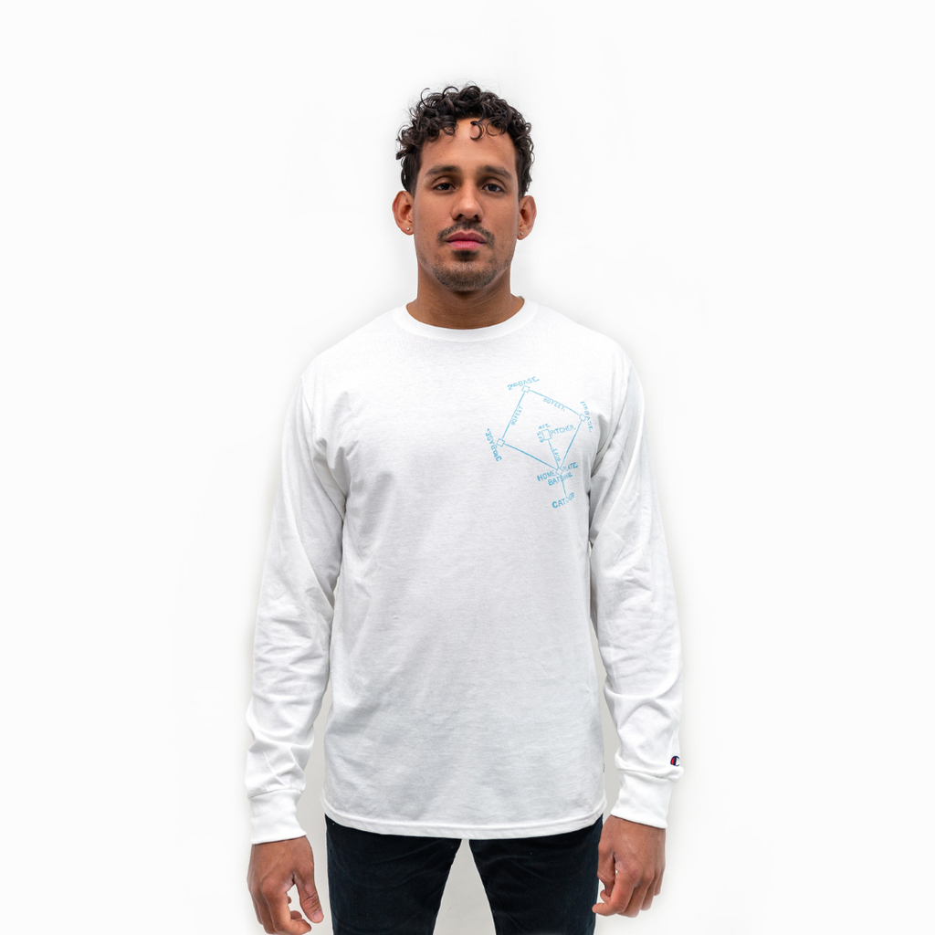 Baseball Diamond Long Sleeve