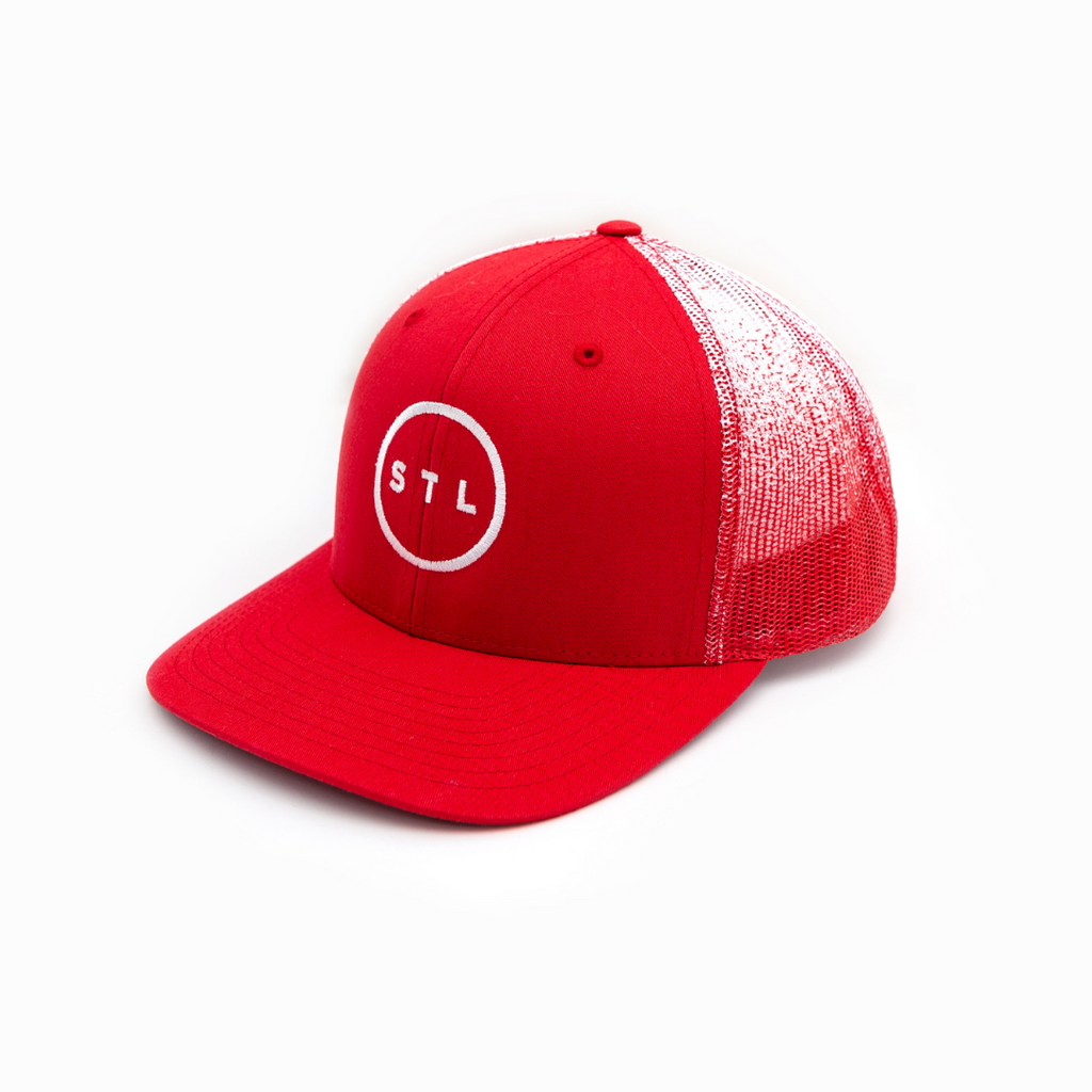 City Circle Ombre Curved Bill Trucker