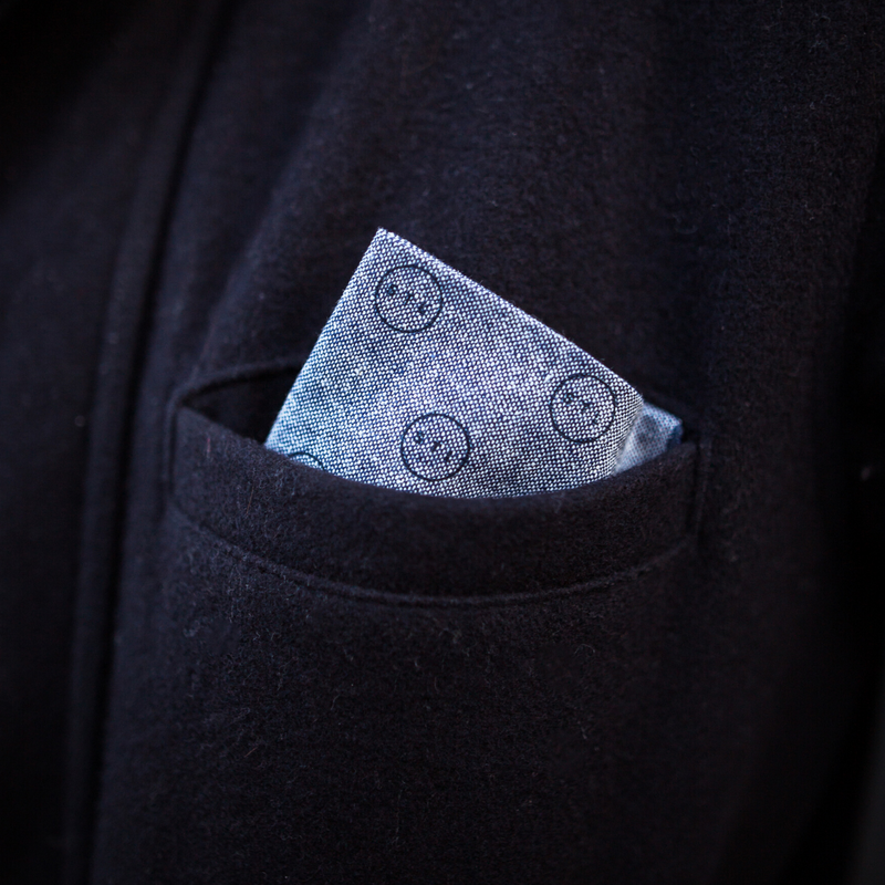 Lonesome Traveler Pocket Square