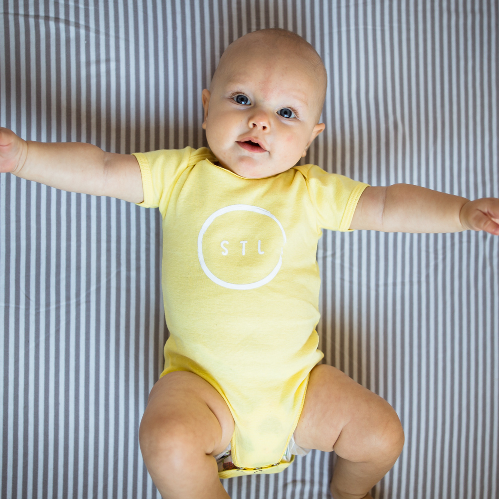 Brushed City Circle Onesie