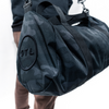 City Circle Black Camo Duffel Bag