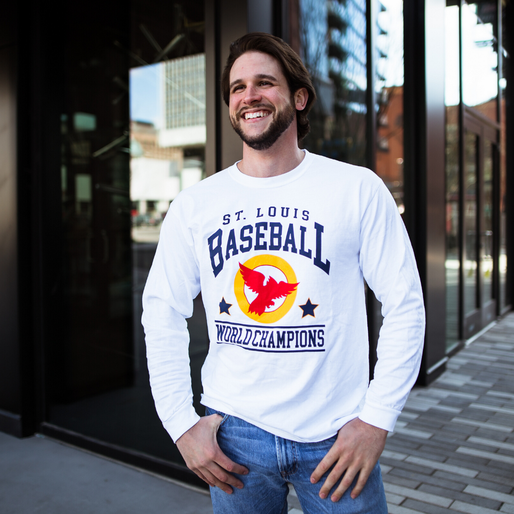 World Champions Baseball Long Sleeve