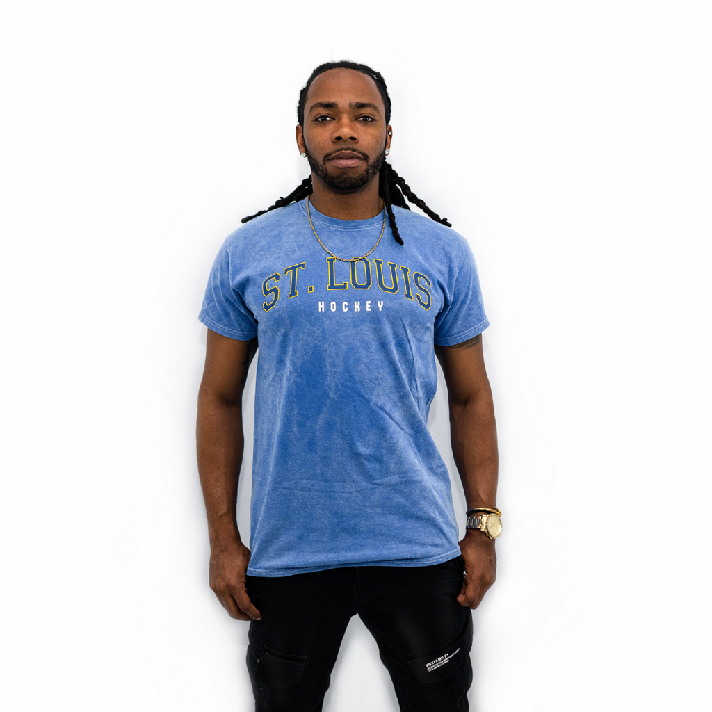 Hockey Collegiate Mineral Wash Tee