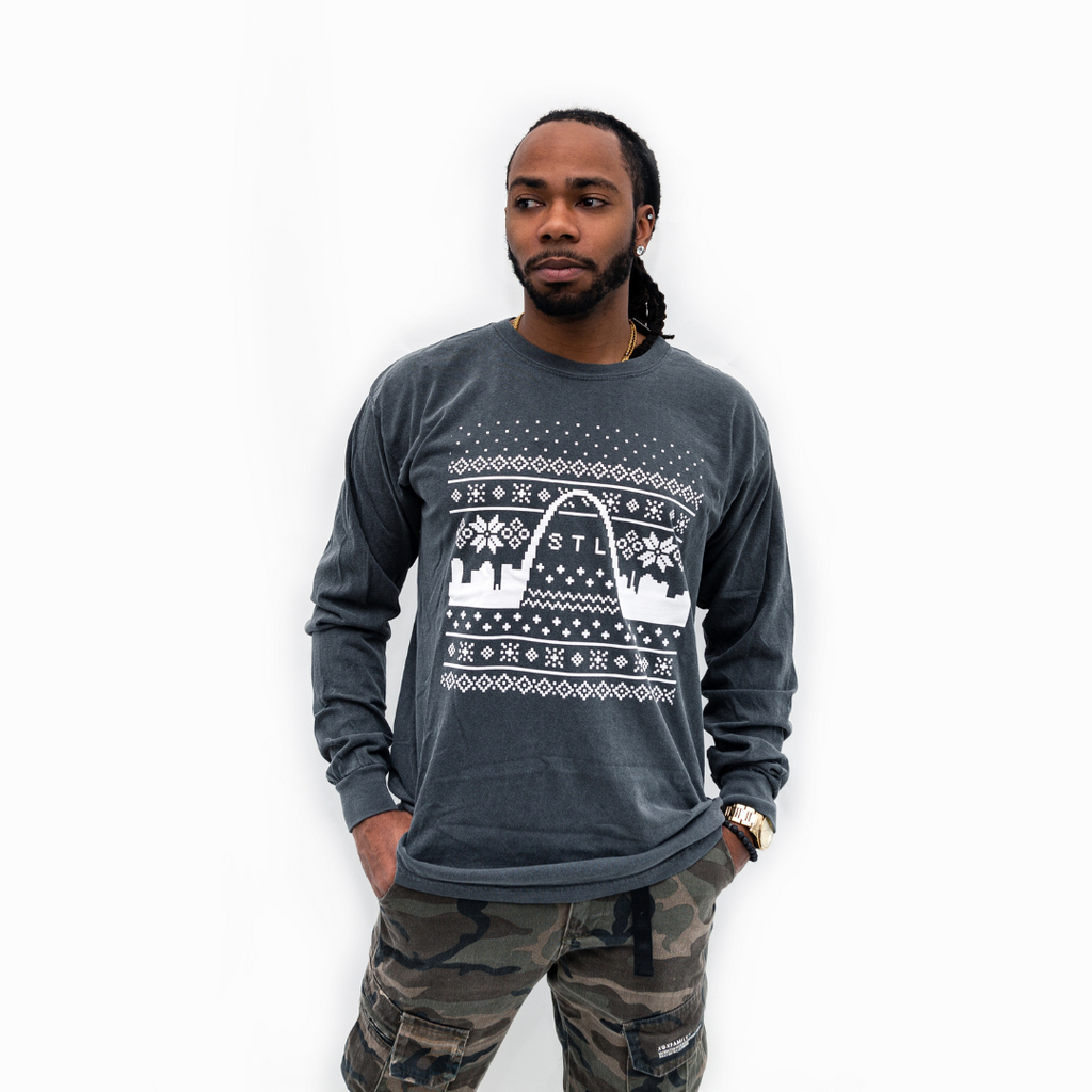Holiday Skyline Long Sleeve