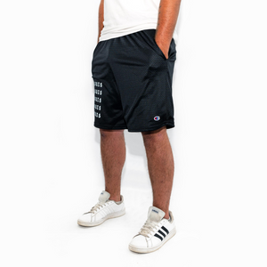 Blackletter Reflective Basketball Shorts