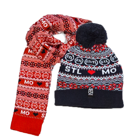 Holiday Beanie + Scarf Combo