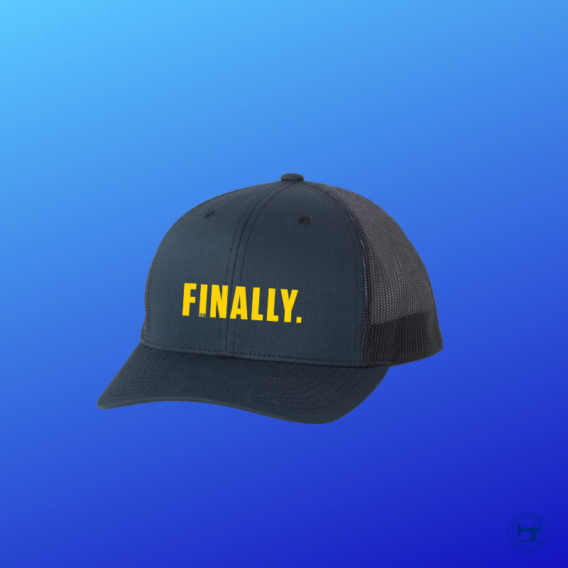 Finally. Baseball Trucker ©️