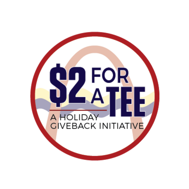 $2 FOR A TEE - GIVEBACK