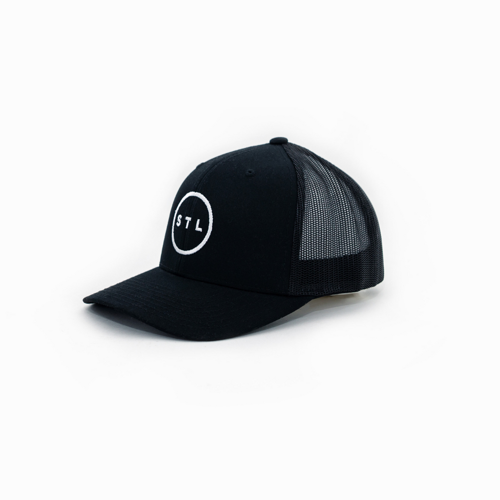 City Circle Curved Bill Trucker
