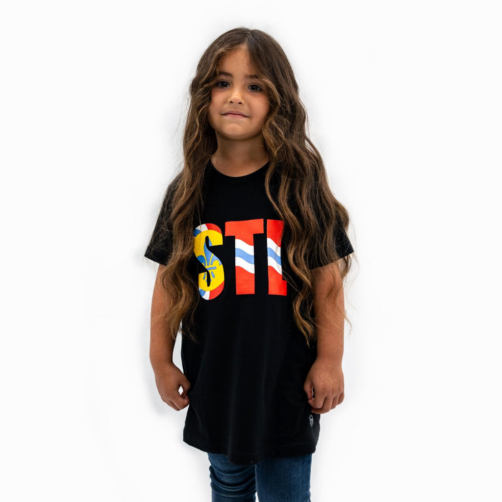 Youth STL Flag Tee