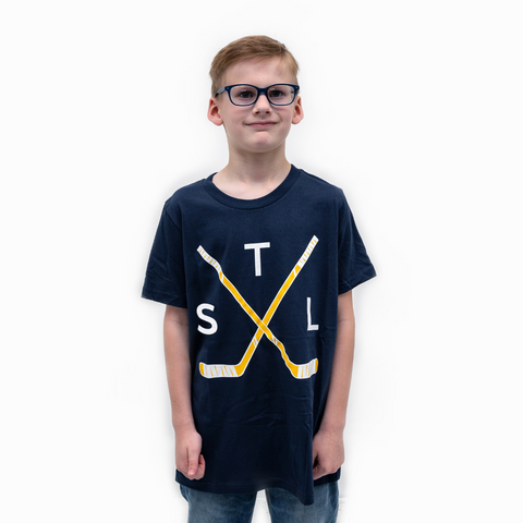 Crossed Sticks Tee